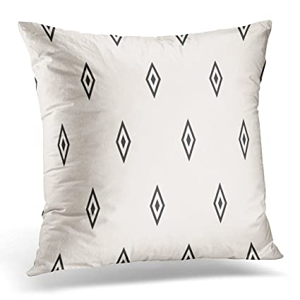 Amazon UPOOS Throw Pillow Cover Argyle Simple Geometric With Stunning Funky Decorative Pillows