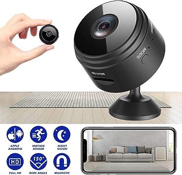 Camara Espia de Seguridad Cargador USB 1080P HD VIDEO ALARM PUSH RECORD APP