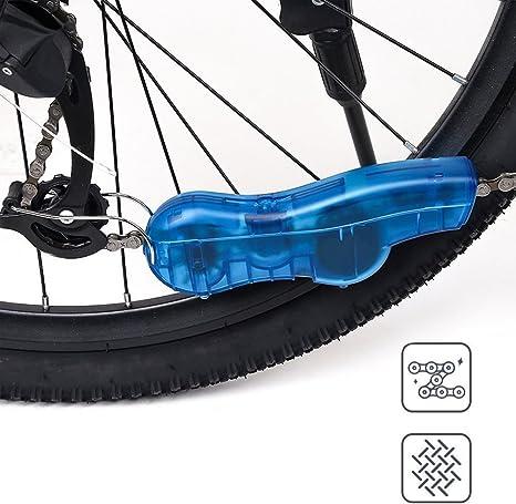 Herramienta de limpieza manual de cadenas para bicicletas, mini ...