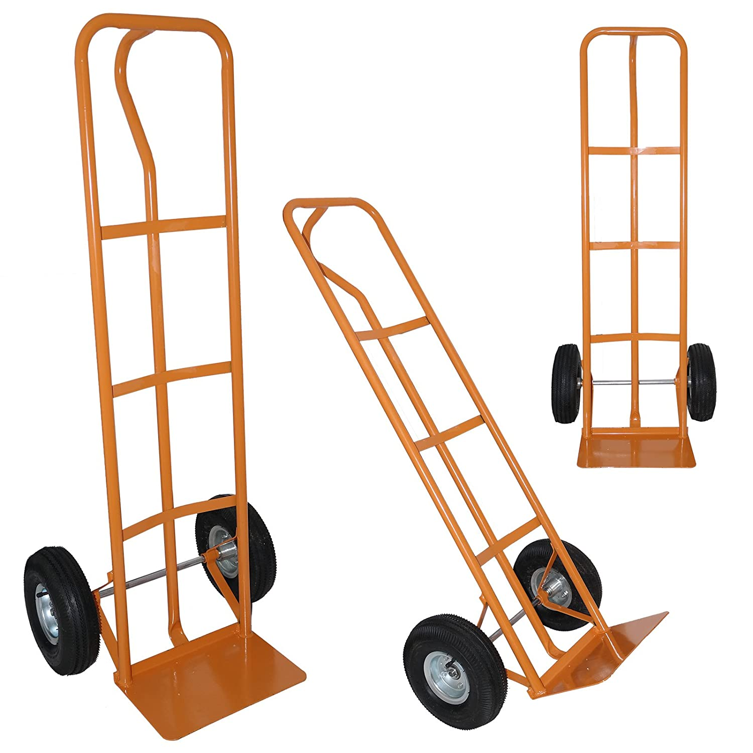 Marko Tools 440LB Heavy Duty Hand Trolley Industrial Sack Truck Barrow 200KG Cart Warehouse