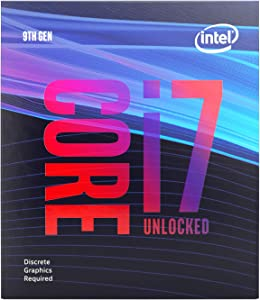 Intel BX80684I79700KF Intel Core i7-9700KF Desktop Processor 8 Cores up to 4.9 GHz Turbo Unlocked Without Processor Graphics LGA1151 300 Series 95W