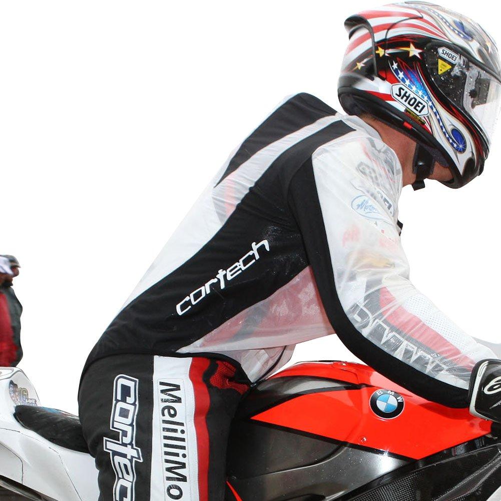 Cortech Road Race Men's Jackets Street Racing Motorcycle Rain Suits - Clear/X-Large 141[並行輸入] B009L026SE  X-Large