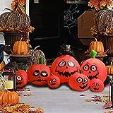 GOOSH 8 Ft Halloween Inflatables Pumpkin