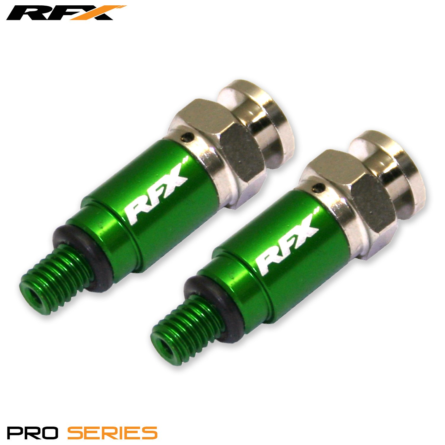 RFX FXFB 101M5 99GN Green Bleeders M5 x 0.8mm Kayaba//Showa Please Note not for use with air Forks