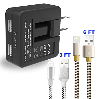 Amazon.com: Cargador de pared USB Sngg, cargador de pared ...