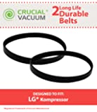 2 Replacements for LG Micro-V 5EPH271 Drive Belt Fits Kompressor LuV200R, LuV300B & LuV400T, Compatible With Part # MAS61843401, by Think Crucial