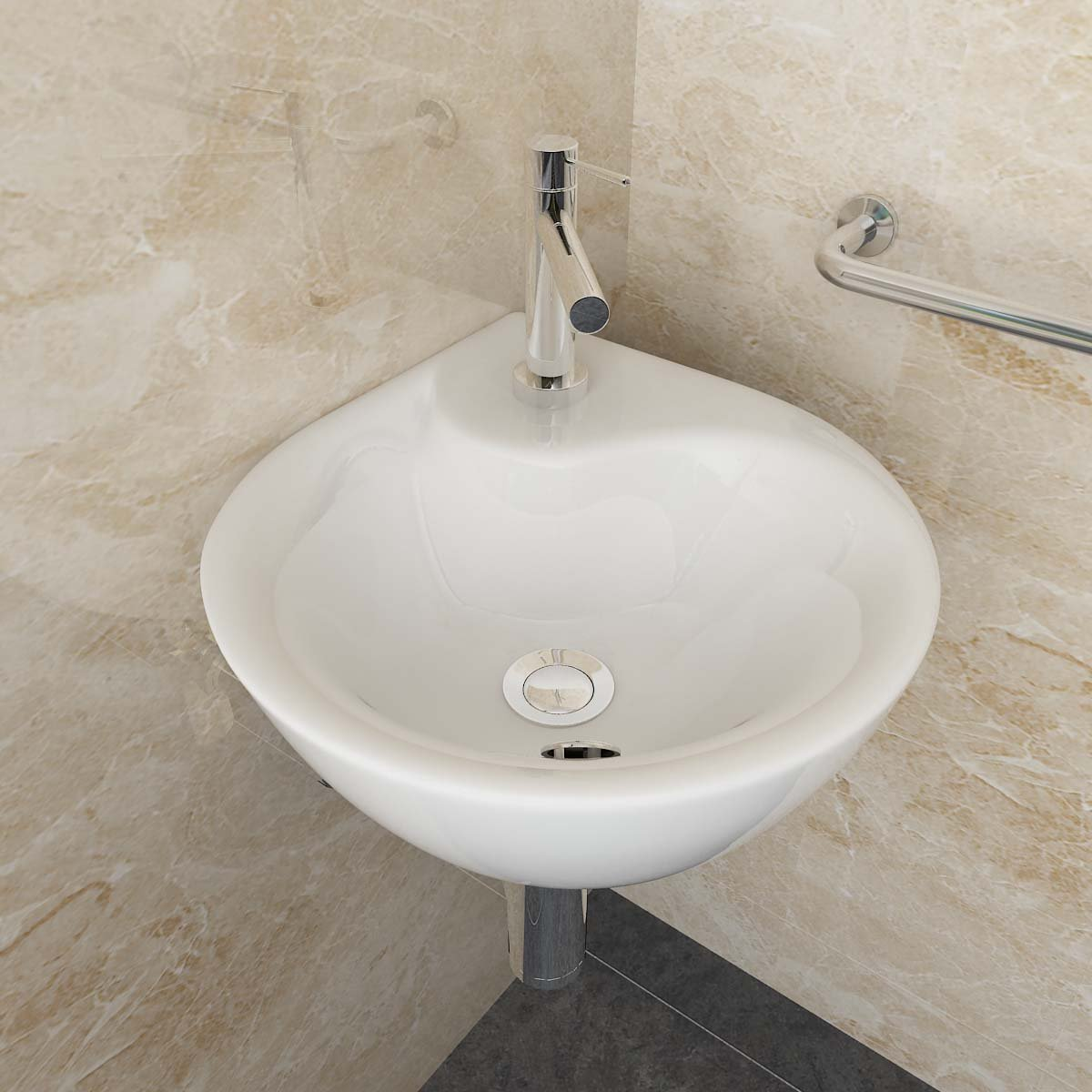 aufsatzwaschbecken g ste wc. Black Bedroom Furniture Sets. Home Design Ideas