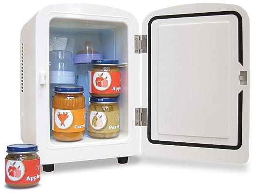 amazon com bébésounds portable minifridge compact refrigerators