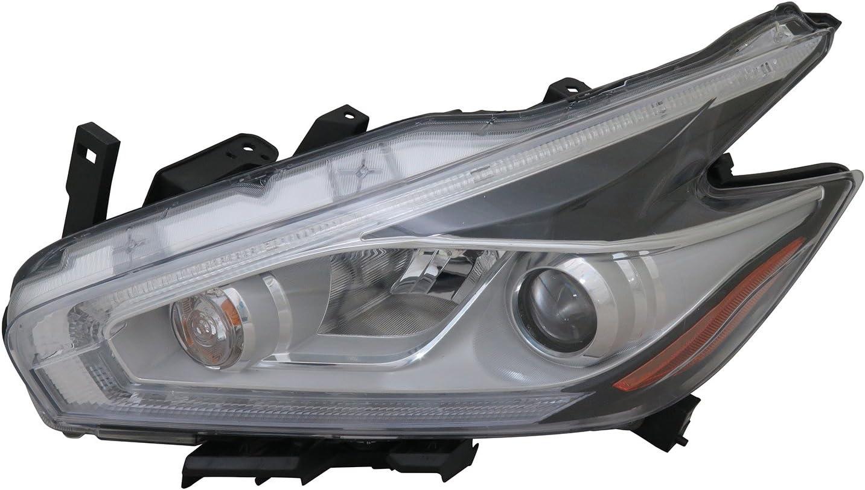 New HEADLIGHT FILLER Bumper Unpainted for Toyota Tundra 07-13 Left LH Driver
