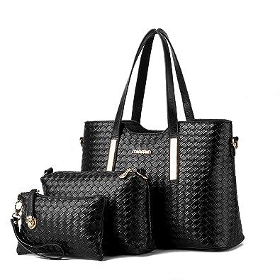 Amazon.com: Fashion bolso de mano conjuntos, mamá, trabajo ...