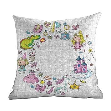 Amazon.com: Matt Flowe - Funda de almohada con cremallera ...