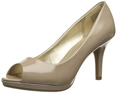 Bandolino Women's Supermodel Platform Pump, Natural, ...