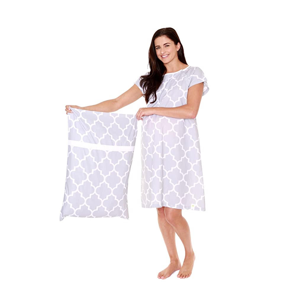 f7ec4206f7fc4 PrevNext. Gownies - Labor and Delivery Hospital Gown and Matching  Pillowcase-Labor Kit