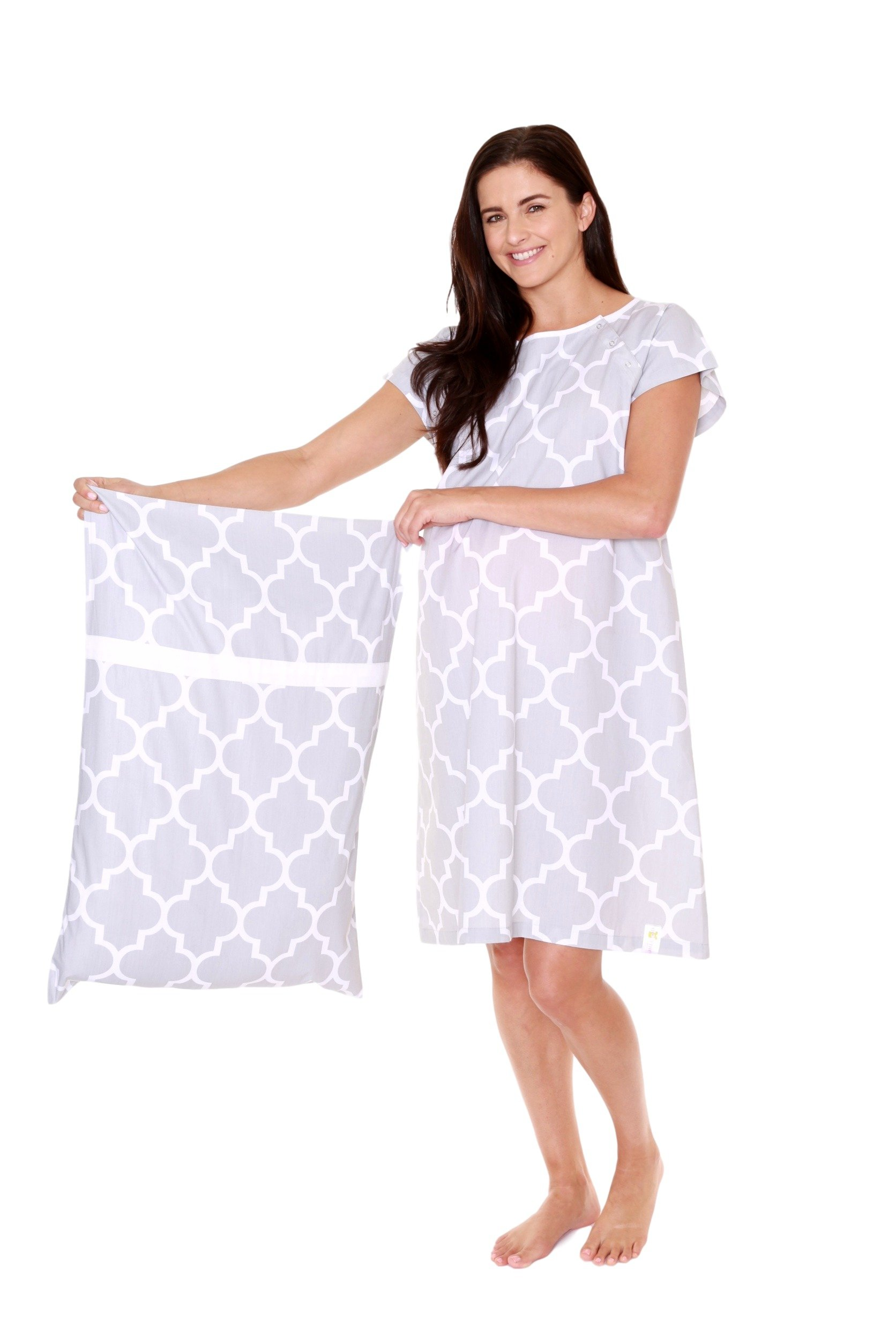 Gownies - Delivery Maternity Hospital Gown Set Labor Kit with ...