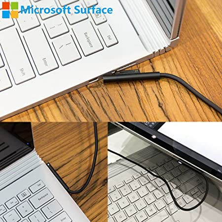 Potenza Cavo Caricabatteria Cavo Di Piombo Per Microsoft Surface Pro 4 12 Pollici Tablet