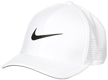 Nike AeroBill Classic99 Gorra de béisbol, Hombre, Blanco (Blanco ...