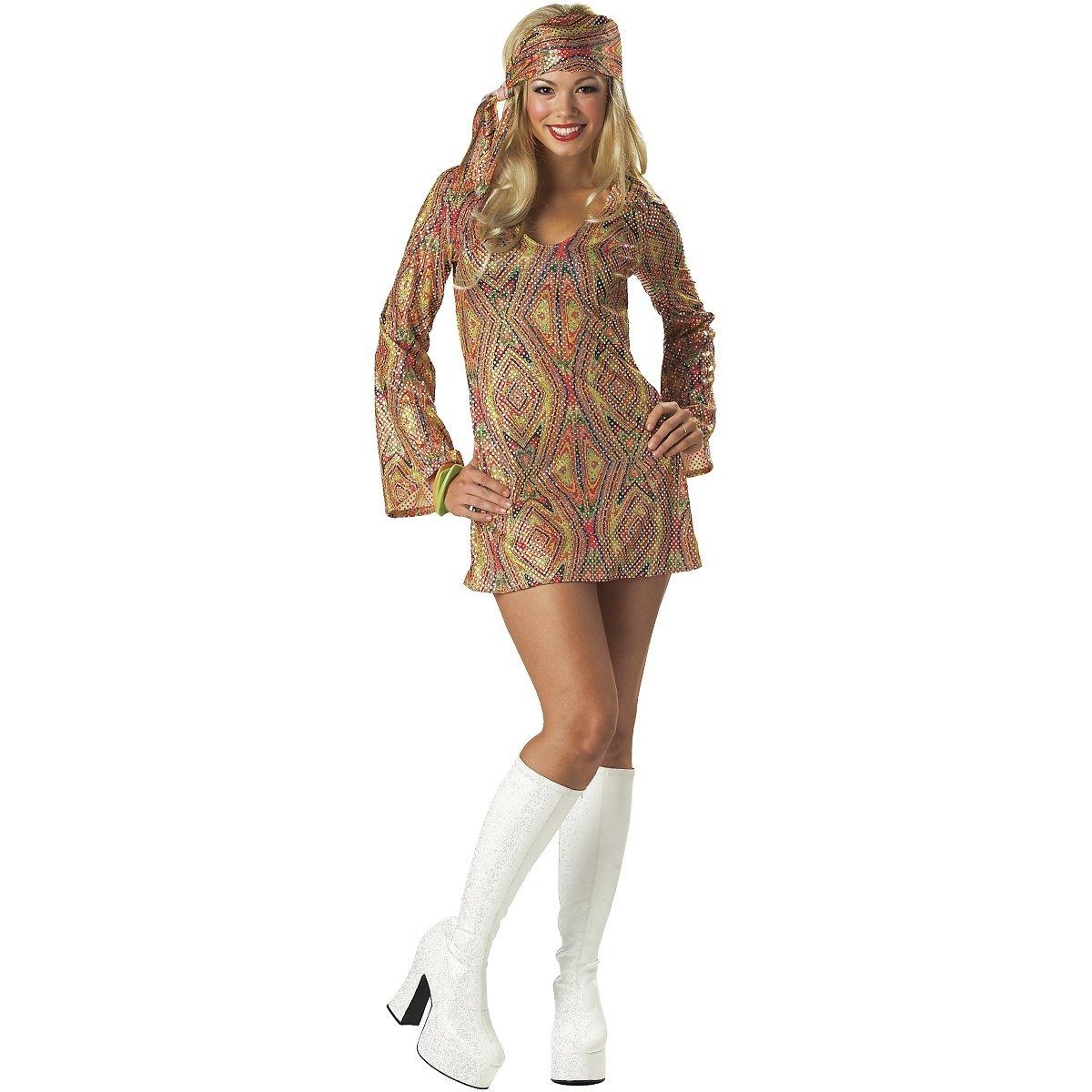 Amazon.com: Disco Dolly – Disfraz Plus tamaño 2 X – Tamaño ...