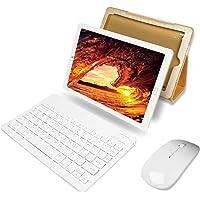 YESTEL Tablet 10 Pollici con wifi offerte Android 8.1 Tablet PC con 3GB RAM & 32GB ROM e LTE Dual SIM Call, 5.0 MP + 8.0 MP HD Camera e 8000mAH (Sblocco Facciale,Supporta Netflix) -Dorato