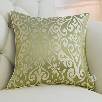 Funda de Almohada Decorativa sofá Europeo de Estilo Jacquard ...