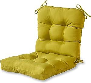 Greendale Home Fashions Indoor/Outdoor Seat/Back Chair Cushion, Kiwi