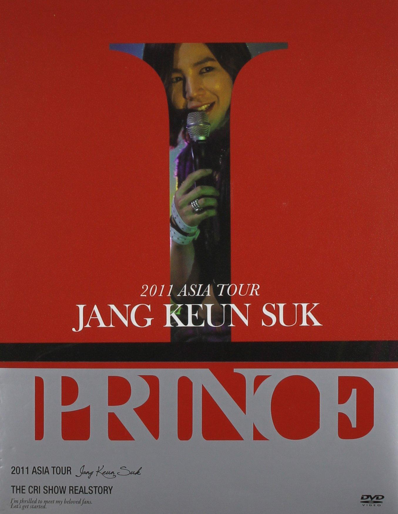DVD : Jang Keun Suk - 2011 Asia Tour (Asia - Import, 4PC)