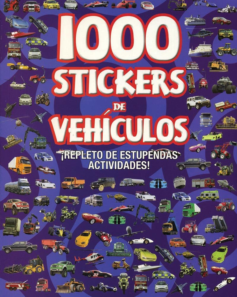 1000 Stickers de Vehículos (Spanish Edition): Parragon Books: 9781407567778: Amazon.com: Books