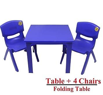 Kindertisch Und Stühle Für Drinnen Oder Draußen Kunststoff