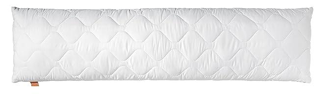 sleepling Medical Seitenschläferkissen Stillkissen aus Softer Mikrofaser 40 x 145 cm, 1.200 Gramm Füllgewicht mit Reißverschl
