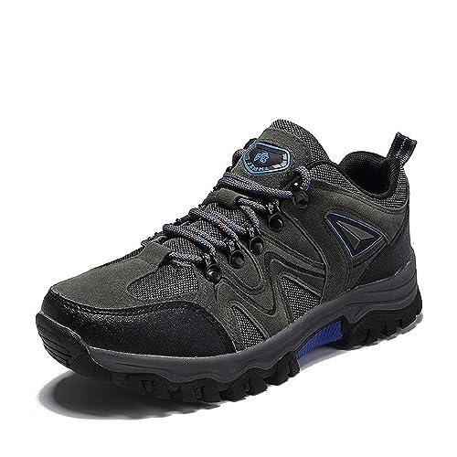 AONETIGER Zapatillas Senderismo para Hombres Impermeables Botas de Montaña Trekking Sneakers Zapatos Aire Libre: Amazon.es: Zapatos y complementos