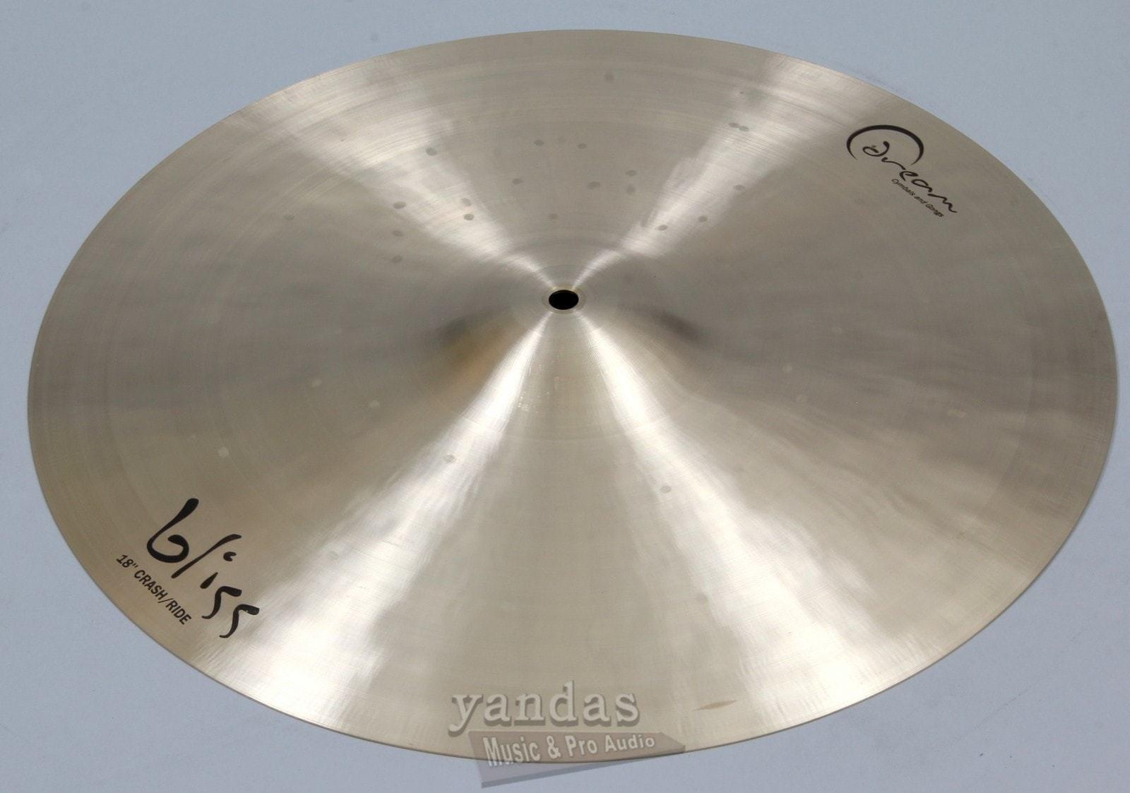 Dream Cymbals BCRRI18 Bliss Series Crash/Ride 18'' Cymbal by Dream