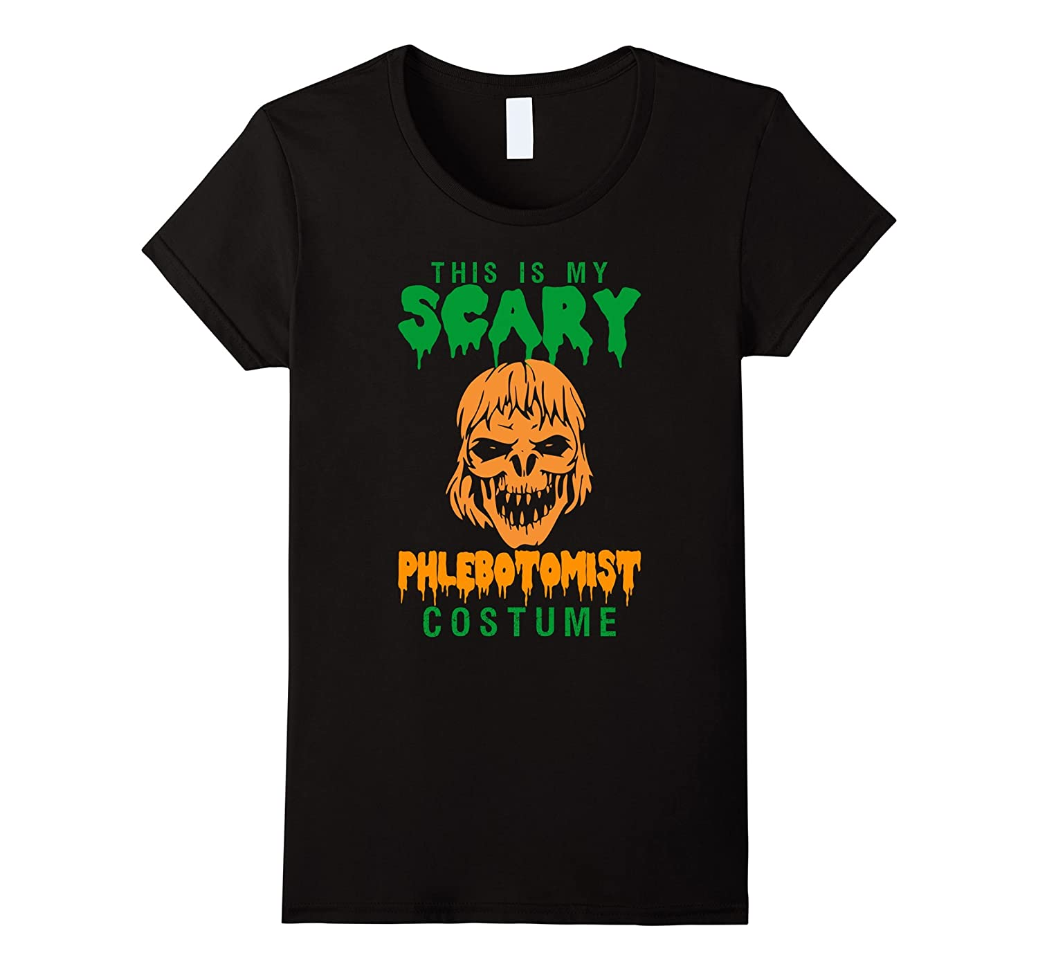 This Is My Scary Phlebotomist Costume Halloween T-Shirt