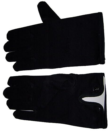 Amazon Mens Black Cotton Dress Gloves Wedding Gloves Wrist