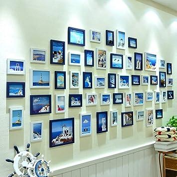 Bilderrahmen Wohnaccessoires Fotowand Mode Wand Home Farbe Wand