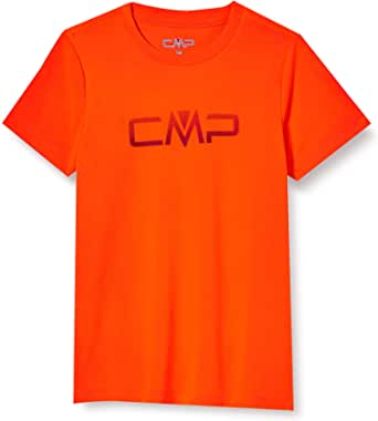 CMP Short Sleeve Piquet T-Shirt with Logo Camiseta Chico