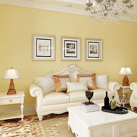 modern simply wallpaper/non-woven wallpaper/Plain white wallpaper ...