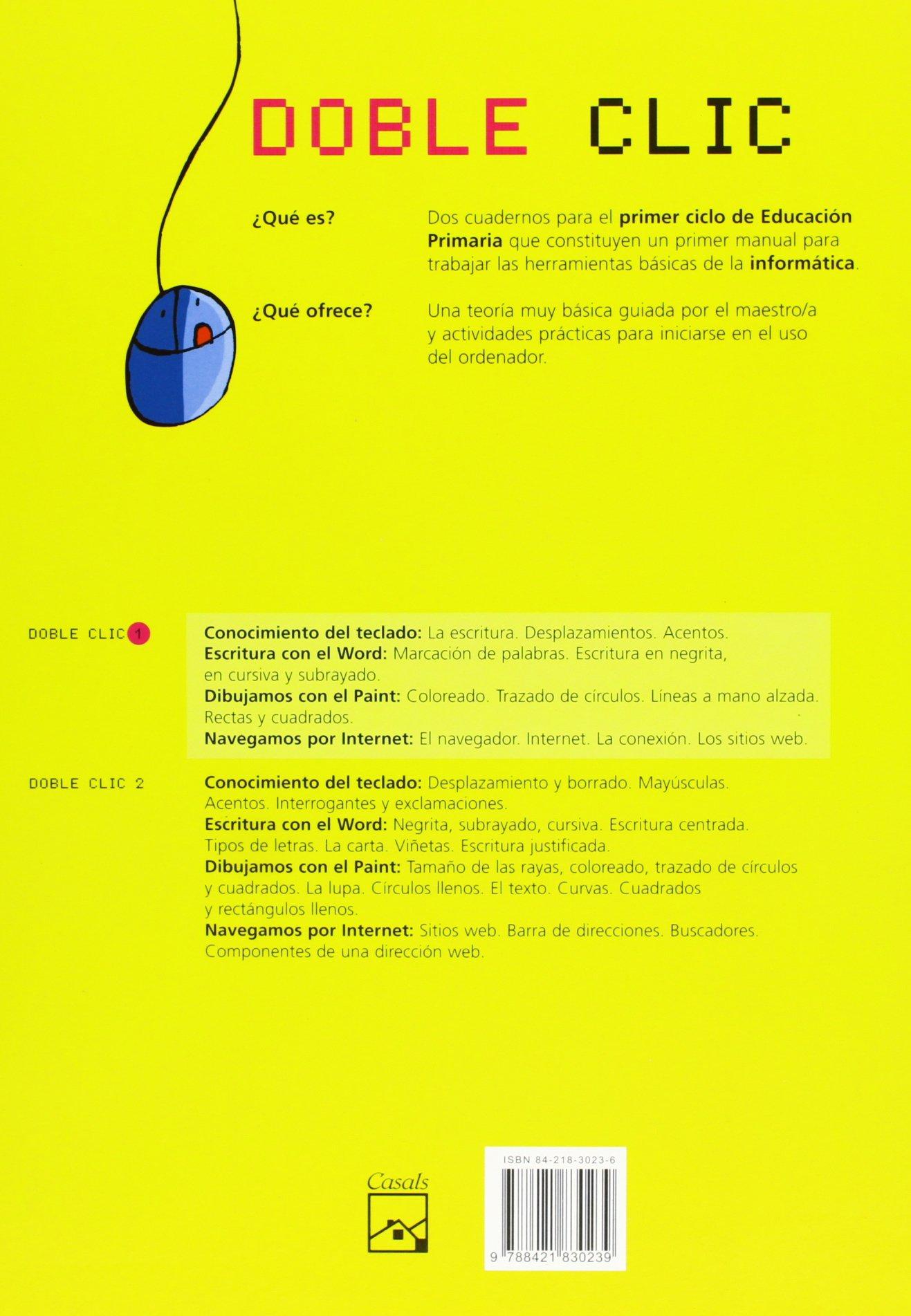DOBLE CLIC 1 EP 05 ACTIVIDADES INFORMATICA MAGINF21EP: 9788421830239: Amazon.com: Books