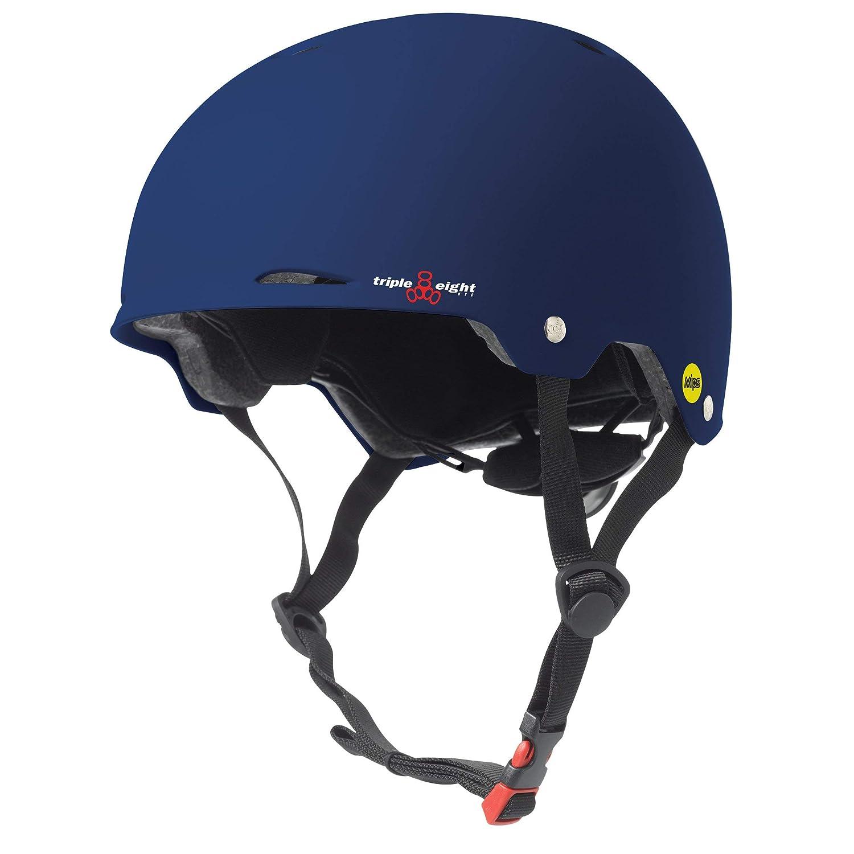 サイクリング、スケート、ローラーブレード、およびローラーダービー用トリプル8ゴッサムMIPSヘルメット、ブルーマット、XS/S   B00VQ8Q5OU