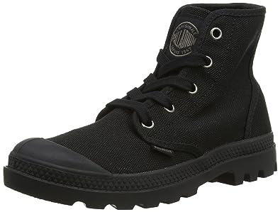 Palladium Women's Pampa Hi Canvas Boot,Black,5.5 ...