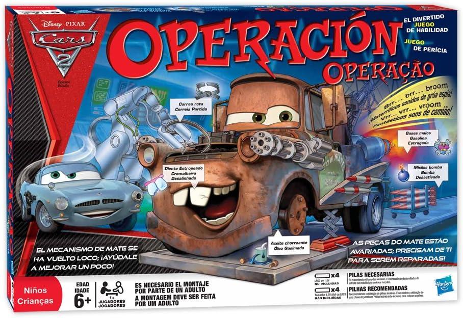 Hasbro IMC Toys Operación cars2 - Operación Cars2: Amazon.es ...