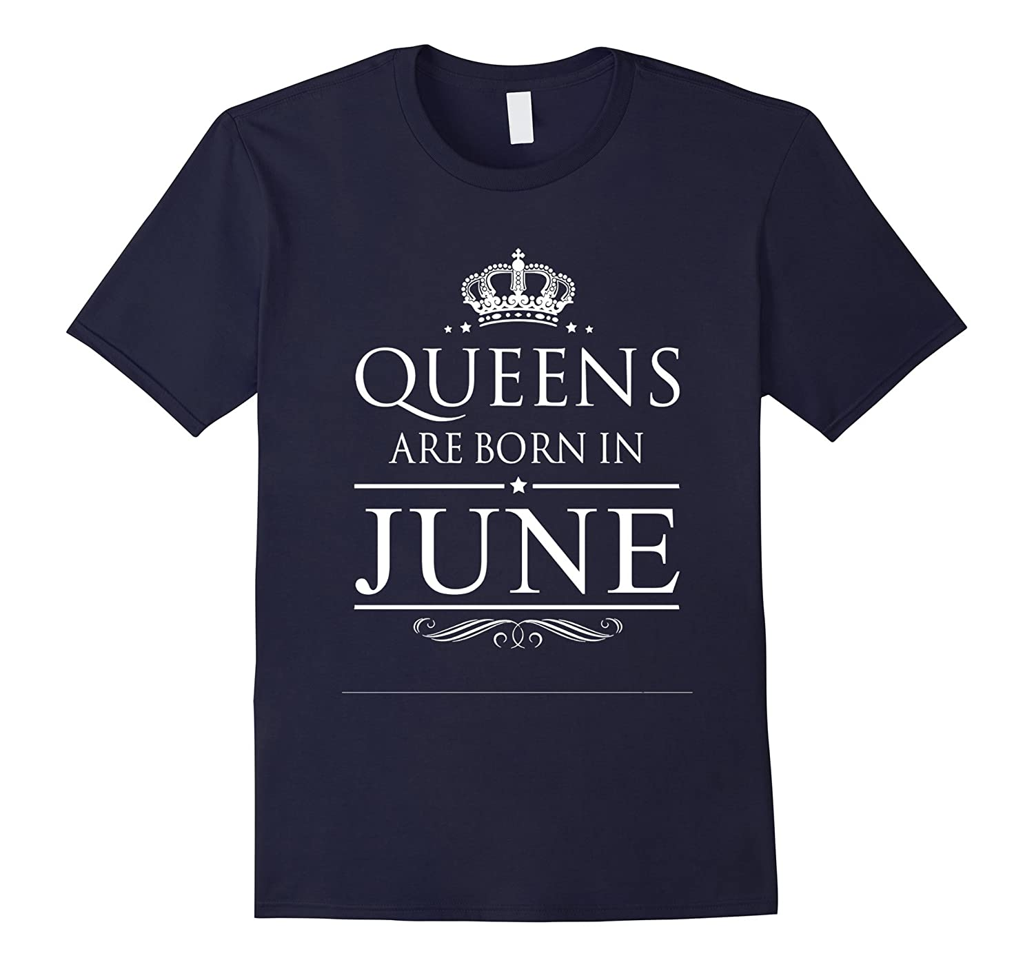 BIRTHDAY GIRL QUEENS ARE BORN IN JUNE T-Shirt-CD