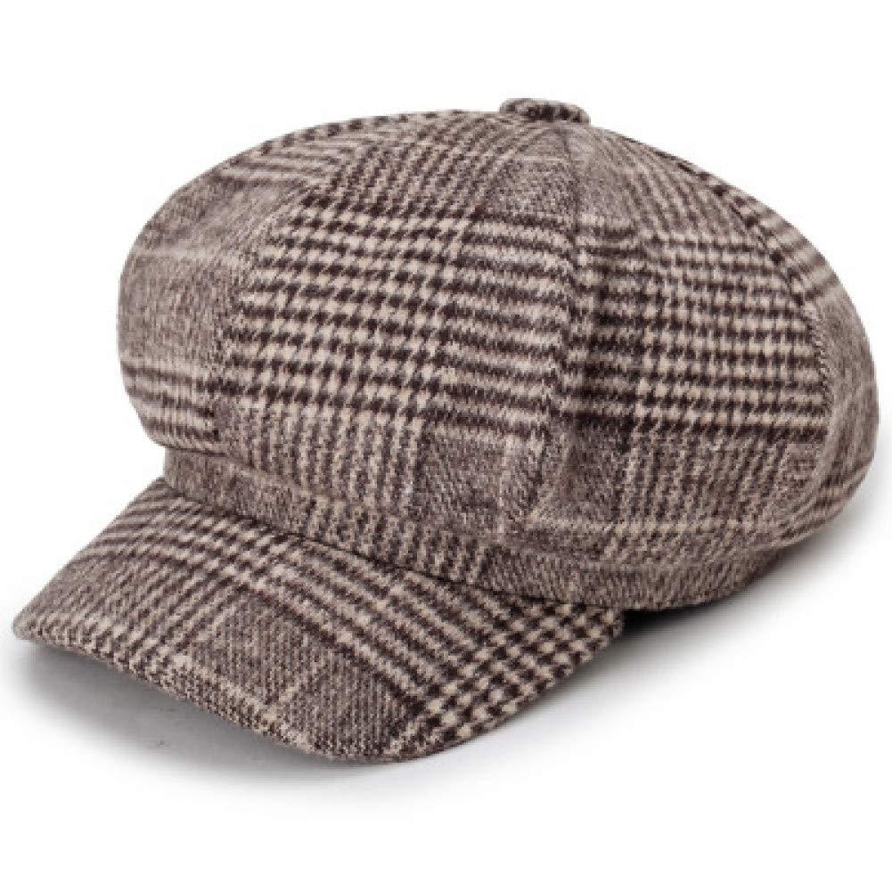 Yosrab Boinas clásicas Sombreros de Lana para Mujer Hombres Gorras ...