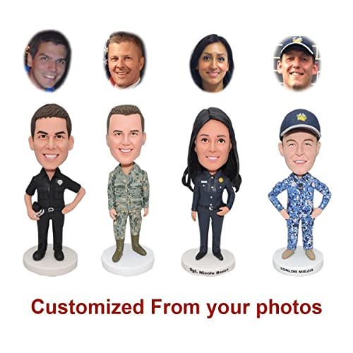 US Army Soldier Bobblehead Figures Personalized Custom Funny Christmas Gifts For Men Husband Boyfriend Birthday Wife