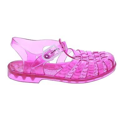 f3d3b58249eb8 Méduse - Sandales fille en plastique rose groseille  Amazon.fr  Chaussures  et Sacs