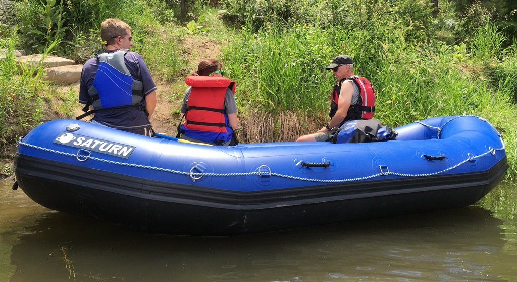 13 Saturn Inflatable Whitewater Raft