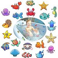 Afufu Pegatinas Antideslizantes para bañera, 20 Piezas Criatura