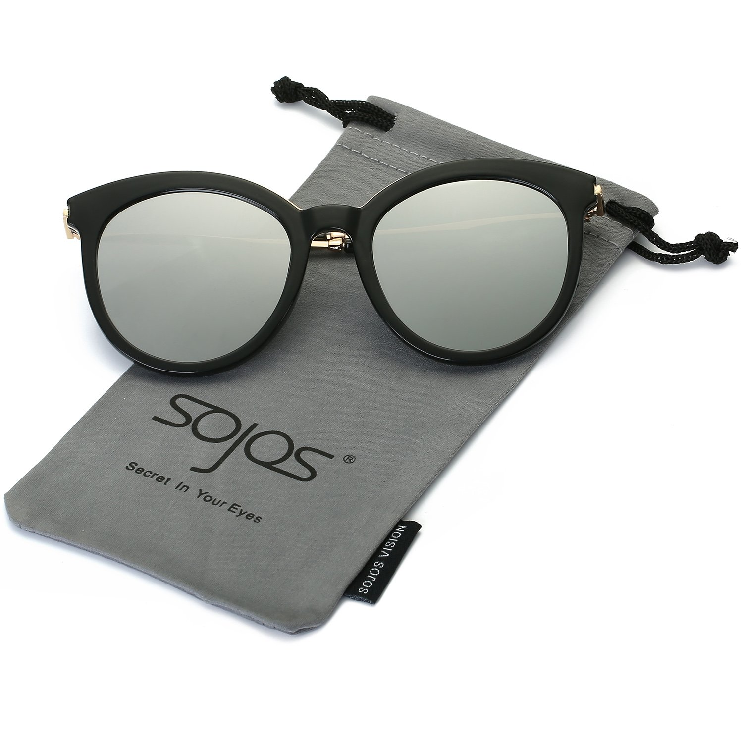 f62ad43e5701 Lens width  58 millimeters. UV400 PROTECTION – SojoS Vision lenses can  block 100% of both UVA and UVB radiation. UV400 rated sunglasses is  essential to ...