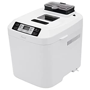 Rosewill RHBM-15001 2-Pound Programmable Bread Maker with Automatic Fruit and Nut Dispenser
