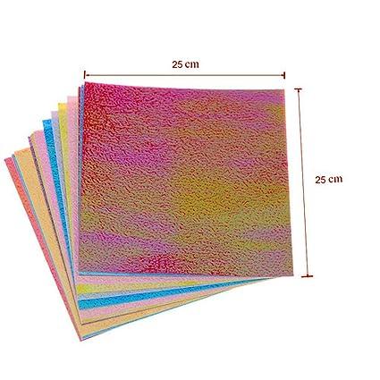 Amazon Izasky Origami Paper 20 Pcsset 8 Size Multicolour