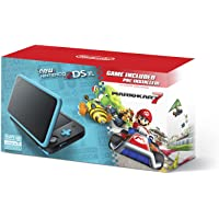 New Nintendo 2DS XL - Black + Turquoise With Mario Kart 7 Pre-installed - Nintendo 2DS - Nintendo 3DS
