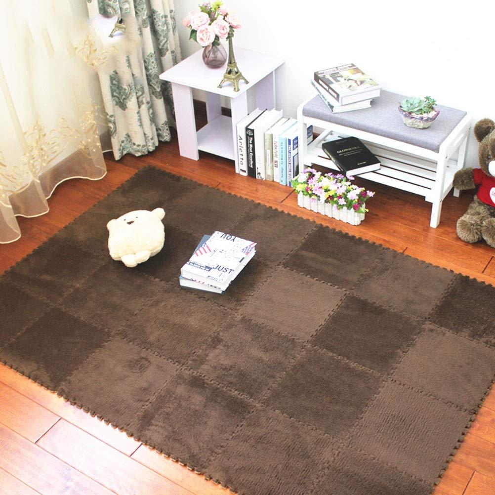 C 30x30x1cm [35 pieces] ZI LING SHOP- MultiFarbe Puzzled EVA Soft Foam Kinderspielplatz Matte ineinandergreifende Fliesen blanket (Farbe   C, Größe   30x30x1cm [35 pieces])